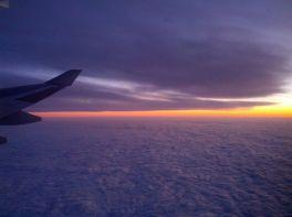 photo avion nuit
