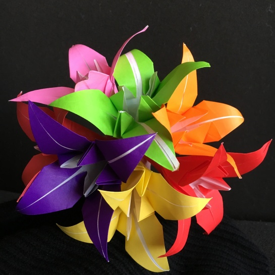 fleurs-origami