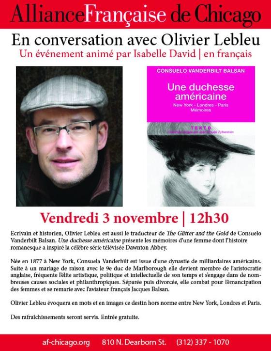 Olivier Lebleu—avec l'auteur