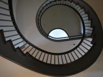 shaker village escaliers