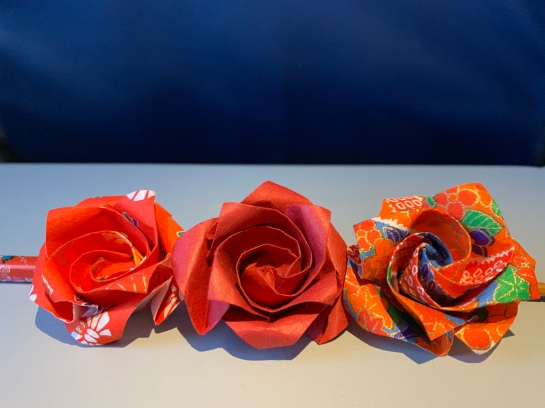 Fleurs origami